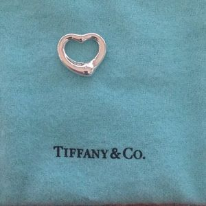 Tiffany & Co. Open Heart Pendant